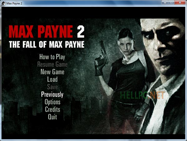 Max Payne 2 running in 3d analyzer on low end pc