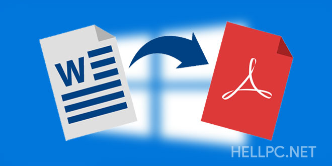 How to Convert or Save Documents as PDF in Microsoft Office