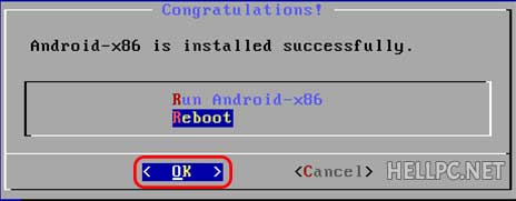 Android installed successfully dual boot with Windows