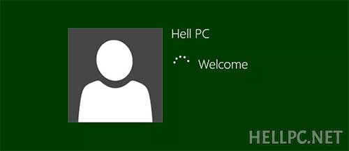 Login to Windows 8 in Safe Mode using your credentials