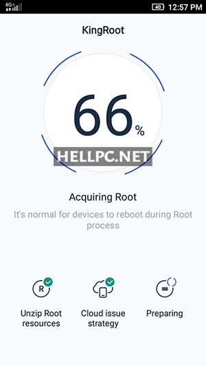 Root Android Phone in Progress