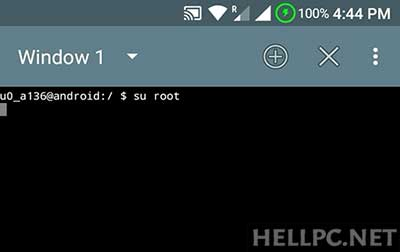 Get Root Access using su root Command