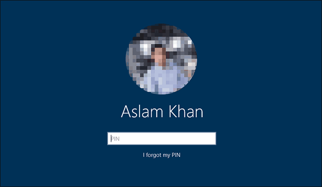 Enter Your Pin To Sign In With Microsoft Account In Windows 10