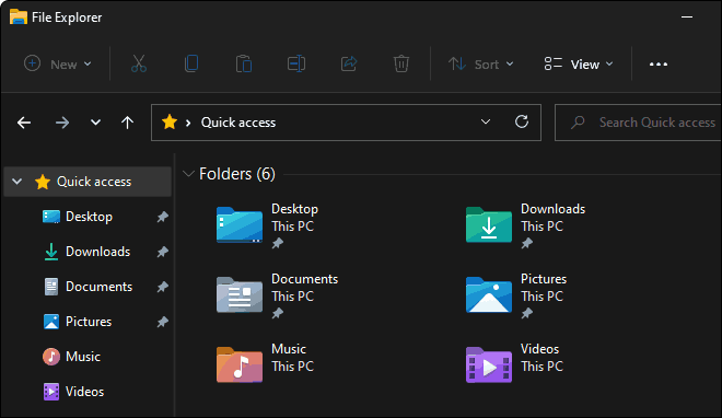 File Explorer Opens To Quick Access By Default In Windows 10 And 11