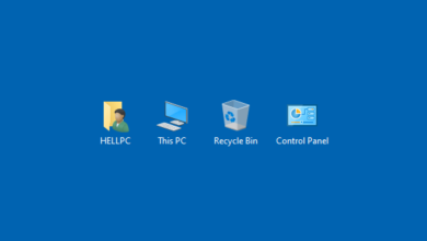 How To Add Restore Desktop Icons In Windows 10 7 And Windows Xp