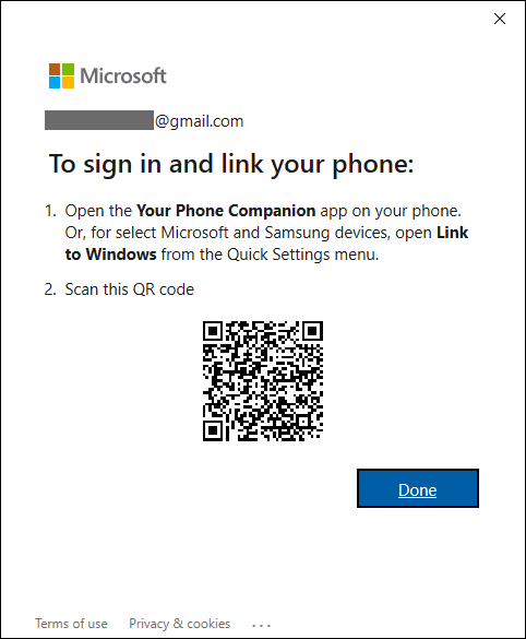 Scan Qr Code Using Your Phone App On Android Phone
