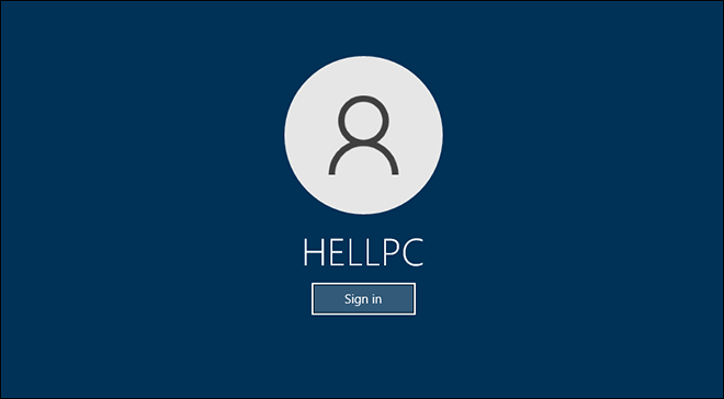 Sign In With Local Account In Windows 10