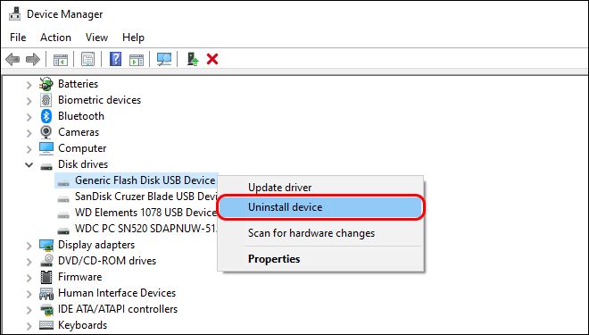 Uninstall Usb Devices That Freezes Your Computer When Plugged In