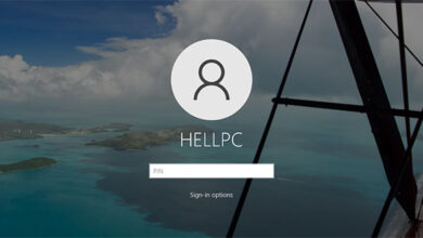 Windows 10 Login Or Sign In Screen Background Picture