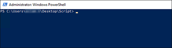 Powershell Opened As Administrator