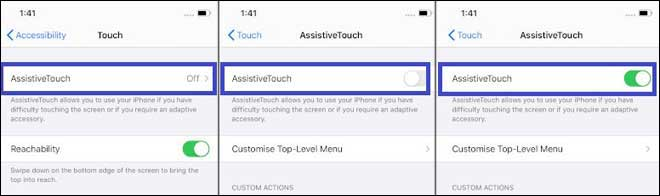 Enable Assistive Touch In Iphone 12