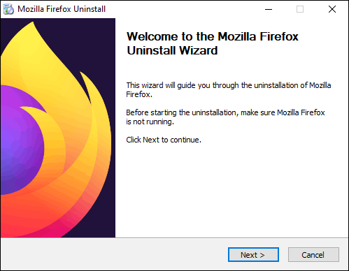 Follow On Screen Instructions To Uninstall The Program