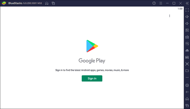 Sign In To Play Store With Your Google Account