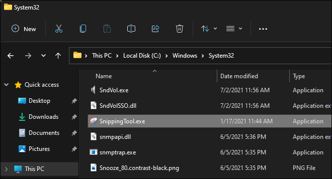 Copy Necessary Files From Windows.old Folder To Windows 11 System Folders To Restore Snipping Tool